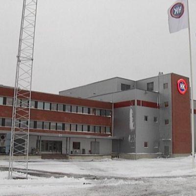 HK Ruokatalon tehdas Forssassa.