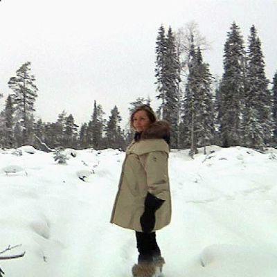 - Kitkajoen hakkuut ovat järkytys, eikä meille kerrottu niistä etukäteen, matkailuyrittäja Anne Murto suree.