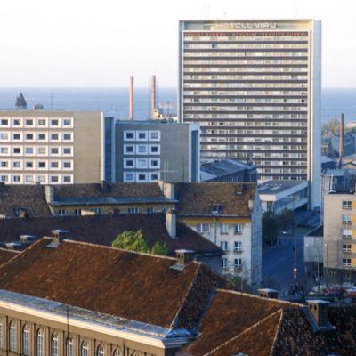 Viru-hotelli vuonna 1985.