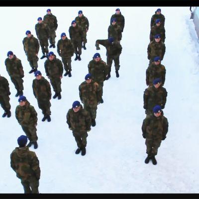 Norjalaissotilaiden harlem shake on kerännyt yli 35 miljoonaa katsojaa