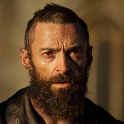 Jean Valjean (Hugh Jackman) Les Misérables -elokuvassa.