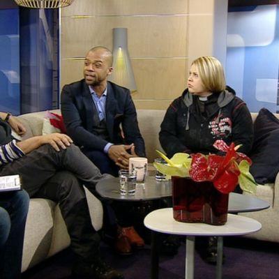 Tasa-arvoisen avioliittolain etenemisestä keskustelivat ohjaaja Pirkko Saisio, kansanedustaja Jani Toivola ja pastori Laura Mäntylä.