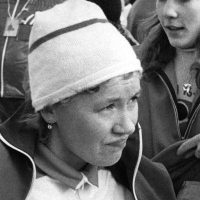 Olympiavoittaja hiihtäjä Helena Takalo