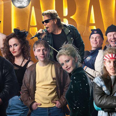 Vuonna -85 -elokuvan näyttelijöitä ja muusikoita
