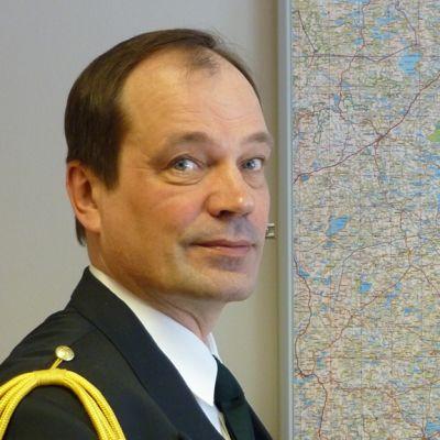 Kainuun rajavartioston komentaja, eversti Ismo Kurki.