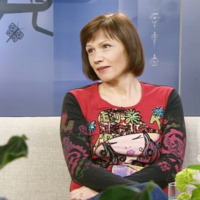 Vieraana oli Risto Räppääjä-elokuvien ohjaaja ja näyttelijä Mari Rantasila.