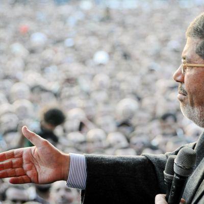 Muhammad Mursi marraskuussa 2012.