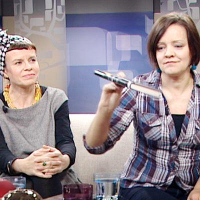 Sari Airola ja Marita Nuto