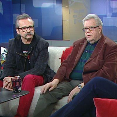 Atte Blom ja Freeman.