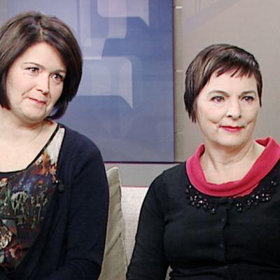 Milla Kalliomaa  ja Anita Hartikka