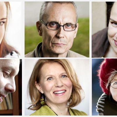 Finlandia candidates (from upper left) Hassinen, Seppälä, Ala-Harja, Ollikainen, Köngäs and Lundberg