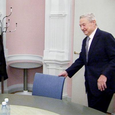 George Soros osallistuu kriisinhallintajärjestön CMI:n tilaisuuteen Helsingissä.