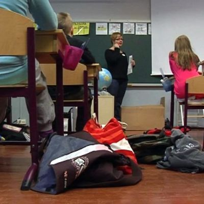 Iin Olhavan koulun luokka 2012.