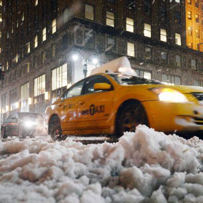 Luminen katu New Yorkissa.