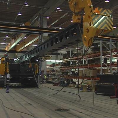 Kone Junttanin tehtaalla Kuopiossa
