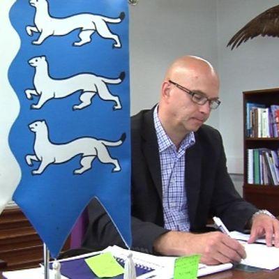Liminkgan kunnanjohtaja Pekka Rajala.