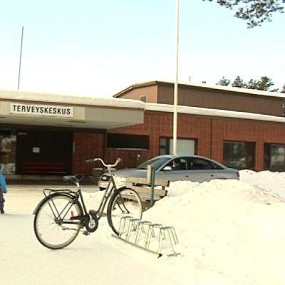 Pudasjärven terveyskeskus.