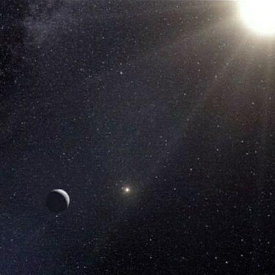 Maan kaltainen plneetta Alpha Centauri B tähden lähellä