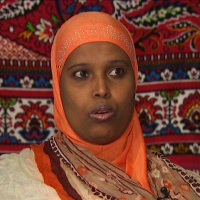 Vihreiden kuntavaaliehdokas Zahra Abdulla