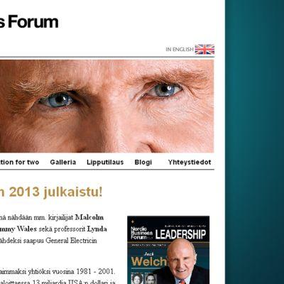 Kuvakaappaus Nordic Business Forumin sivuilta