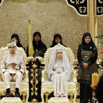 Prinsessa Hajah Hafizah Sururul Bolkiah vihittiin avioliittoon mielitiettynsä Pengiran Haji Muhammad Ruzainin kanssa tänään, 23. syyskuuta 2012.