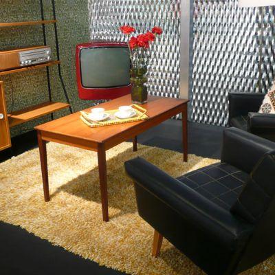 60-luvun olohuone.