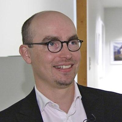 Korjaamo Gallerian vastaava johtaja Jukka Valkonen