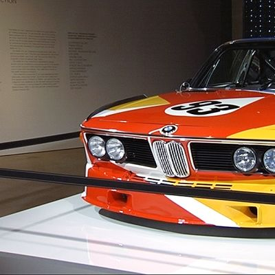 Koristeltu BMW taidemuseossa.