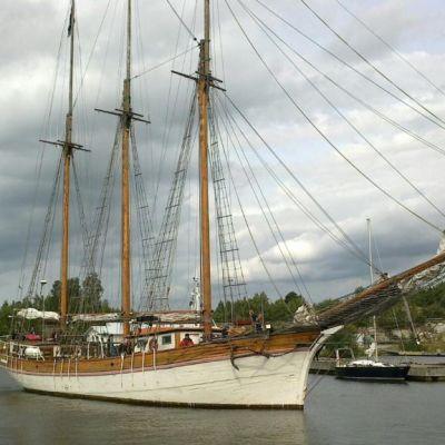 Kathrina saapui Raumalle 30. elokuuta.