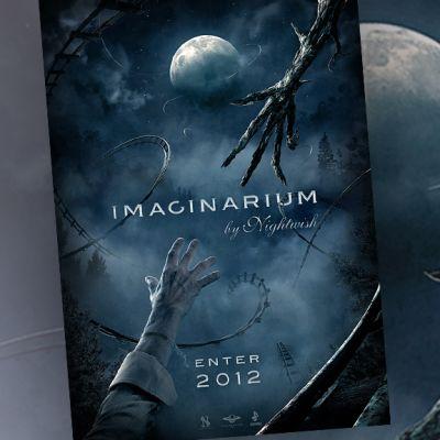 Juliste tulevasta Imaginaerum-elokuvasta.