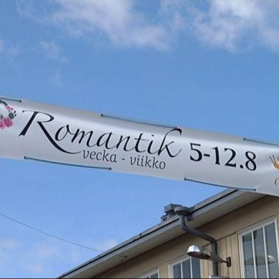 Romantiikkaviikko järjestettiin Kristiinankaupungissa nyt ensimmäistä kertaa.