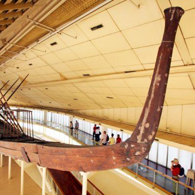 Aurinkolaiva esillä museossa.