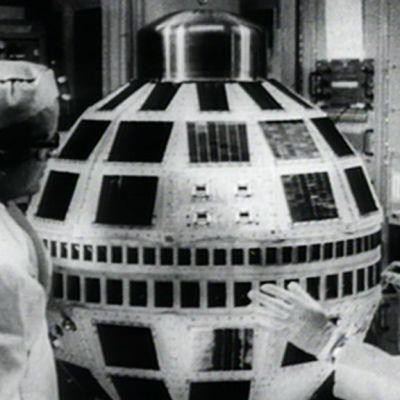 Telstar-televisiosatelliitti.