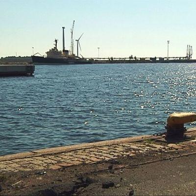 Kemin Ajoksen satama.
