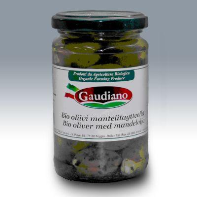 Botulismibakteeria sisältänyt italialainen Gaudiano Bio -mantelioliivipurkki.
