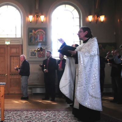 Muistotilaisuus ortodoksisessa kirkossa
