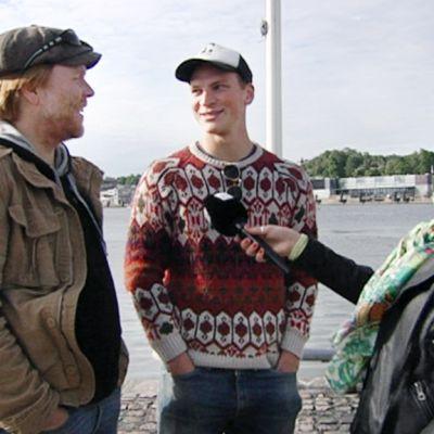 Juha Kukkonen ja Riku Nieminen