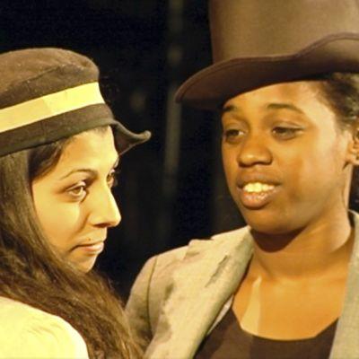 Kaksi näyttelijää