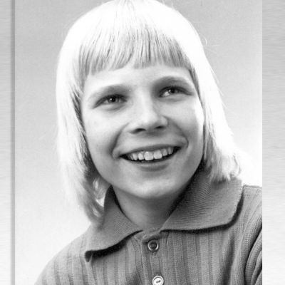 Jari Huhtasalo 1970-luvulla.