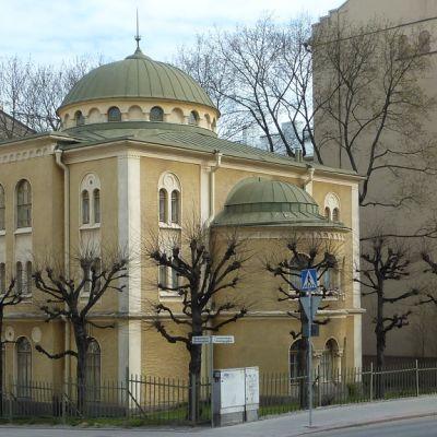 Ulkokuva Turun juutalaisesta seurakunnasta