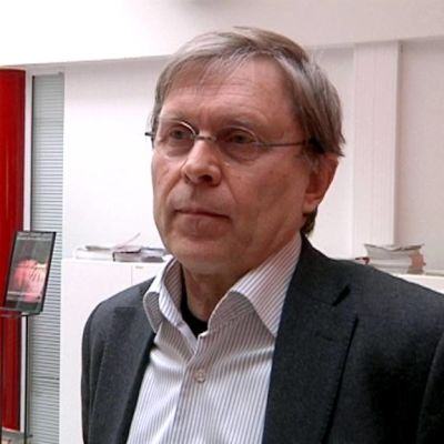 Jyväskylän yliopiston kehitysneuropsykologian professori Heikki Lyytinen huhtikuussa 2012.