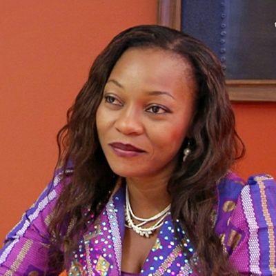 Elokuvatähti Thelma Nwosu.