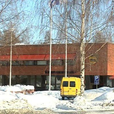 Pudasjärven kaupungintalo.