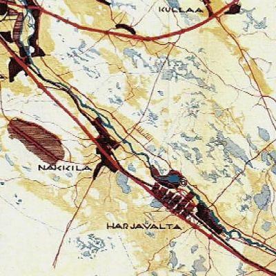 Aallon aluesuunnitelma loi pohjan valtatie 2:lle, mutta säilytti myös vanhat ja kiemuraiset kylätiet.