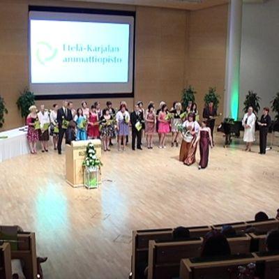 Etelä-Karjalan ammattiopiston valmistujaisjuhla 2010.
