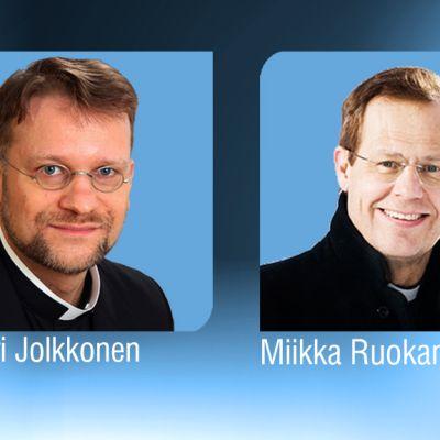 Jari Jolkkonen ja Miikka Ruokanen