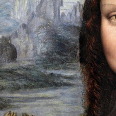 Yksityiskohta  Madridin Prado-museon maalauksesta.