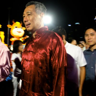 Singaporen pääministeri Lee Hsien Loong.