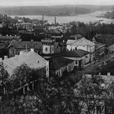 Lappeenrantaa 1910-luvulla.