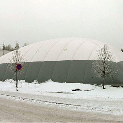 Savitaipaleen kuplahalli valmistui marraskuussa